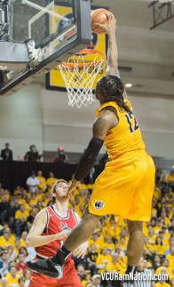 VCU junior Mo Alie-Cox took home three all-conference awards today including Third Team, All-Defensive and All-Academic honors.