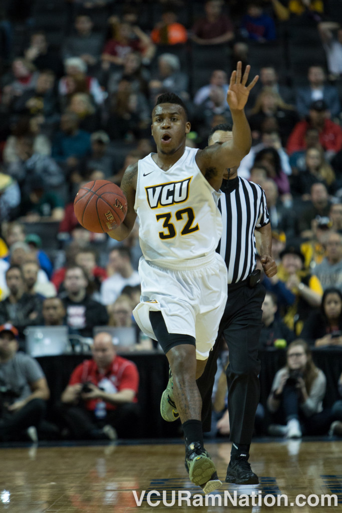 Melvin Johnson played just 20 minutes in VCU's rout of Davidson but may need a big game today for the Rams to defeat Saint Joseph's.