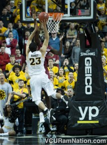 VCU will play Saint Joseph's for the first time since falling to the Hawks in last season's A-10 tournament title game.