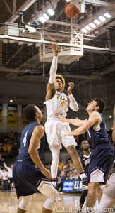 Justin Tillman missed VCU's win over Liberty but is expected to return for the Rams game against Binghamton.