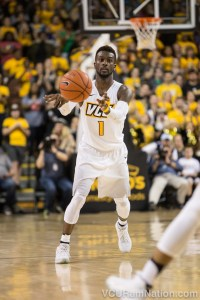 VCU leading scorer JeQuan Lewis tweaked his ankle in the Rams loss and finished just 1-9 from the field.