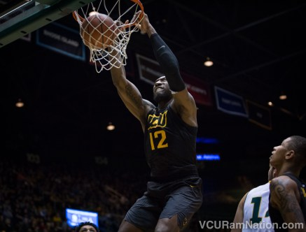 Mo Alie-Cox scored 21 points in just 22 minutes in a VCU blowout of Rhode Island last season in Richmond.