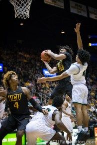 Johnny Williams scored 12 points on 50% shooting in VCU's road win at George Mason.