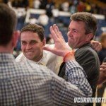 Will Wade celebrates VCU's miracle victory over George Washington