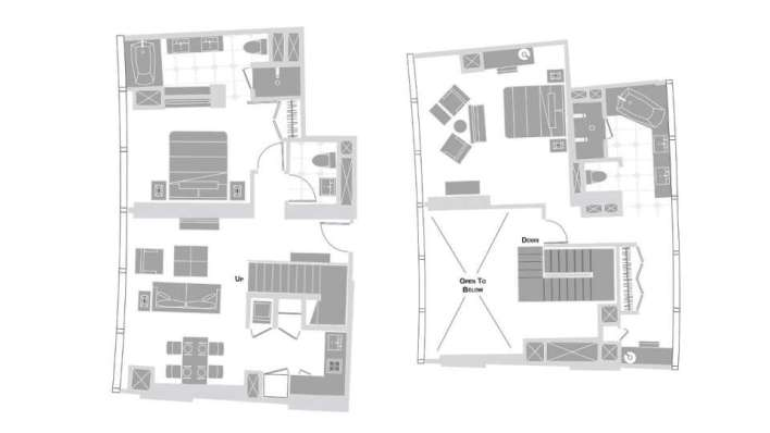 Vdara 2 Bedroom Suite Floor Plan | www.cintronbeveragegroup.com