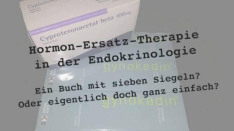 Hormon-Ersatz-Therapie in der Endokrinologie - Ein Buch mit sieben Siegeln? Oder eigentlich doch ganz einfach?