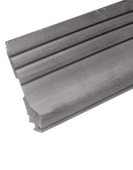 Topsectie rubber per meter
