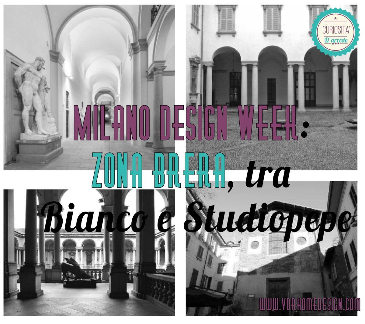 Milano Design Week: zona Brera, tra Bianco e Studiopepe