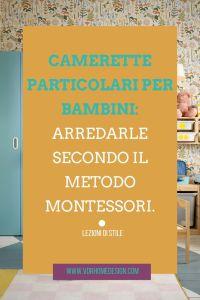 metodo montessori in cameretta copertina