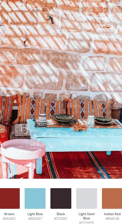 Materiali E Colori Da Abbinare Al Rosso Per Arredare Casa