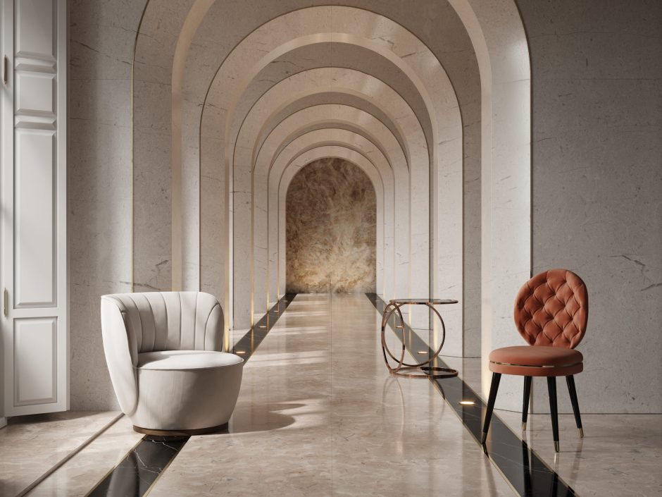 collezione Capital di Domkapa al Salone del Mobile di Milano 2019