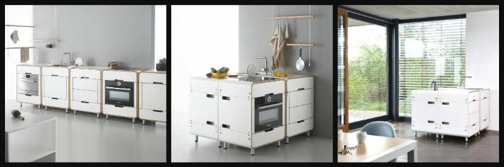 arredare una cucina piccola con la cucina a blocchi stadtnomaden