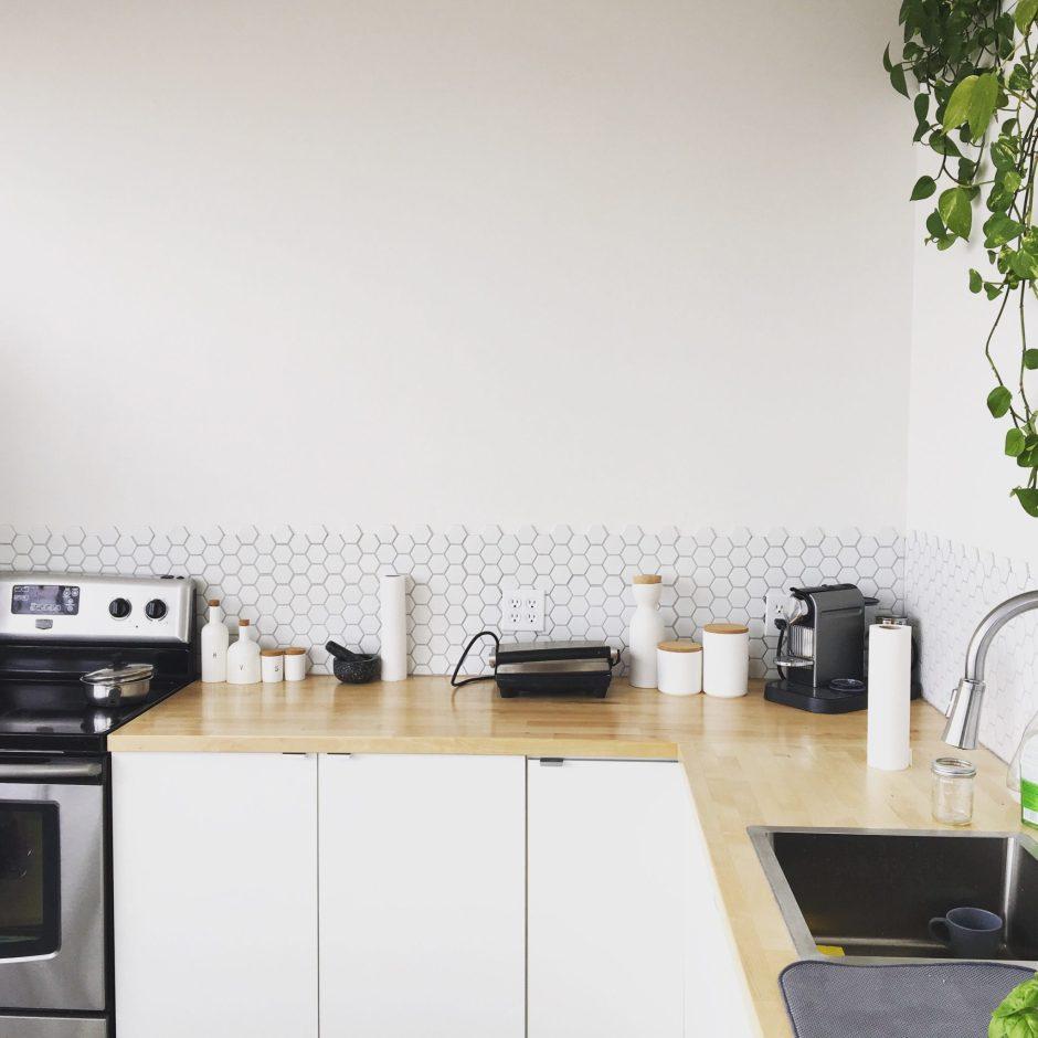 materiali usati per la cucina: il legno nelle basi e nel top