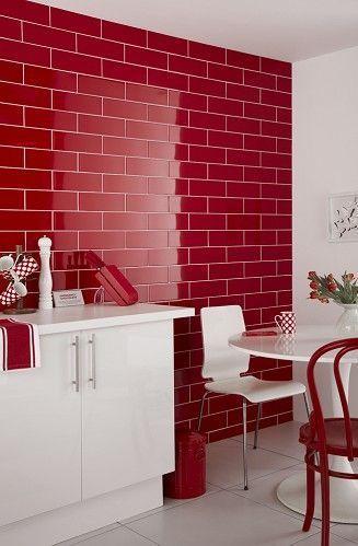 usare il rosso per arredare casa