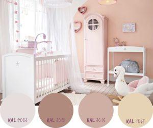 colori per pareti cameretta bimba