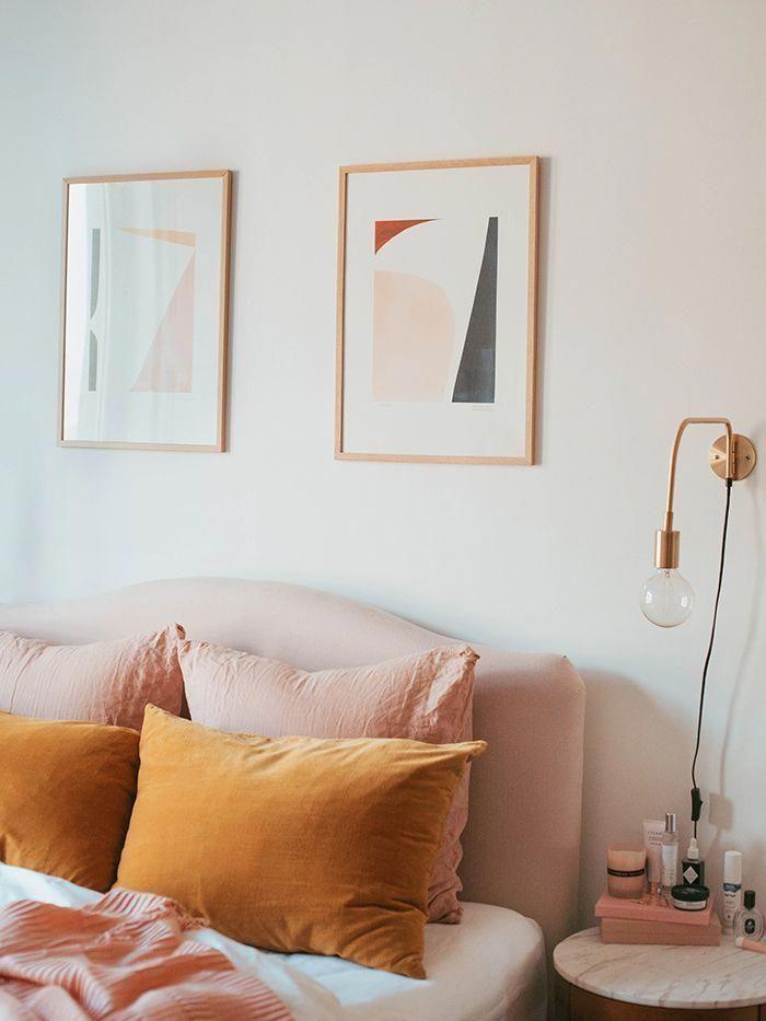 imbiancare casa colori e abbinamenti in rosa e senape