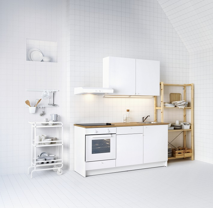 cucina micro laccata bianco opaco