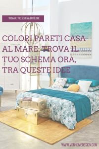 colori pareti casa al mare
