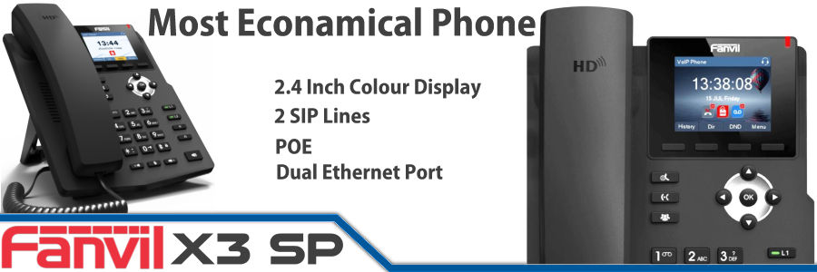 Fanvil X3SP IP Phone Dubai