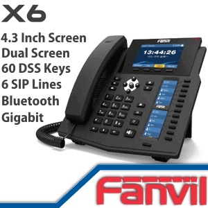 Fanvil-X6-IP-Phone-Dubai-UAE
