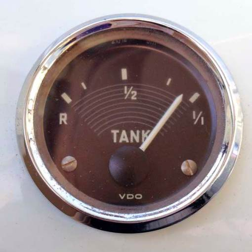 Original VW split screen fuel gauge working again!
