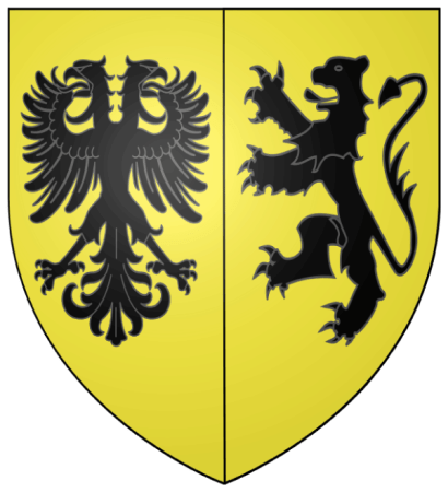 Blason Ville Be Ninove – The coat of arms of Ninove in Belgium