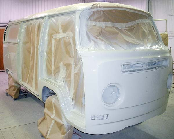 masked up and sprayed up in L87 Pearl White