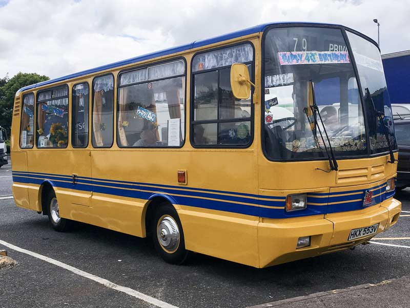 unique 1976 Bedford JJL bus, the only one left in the world!