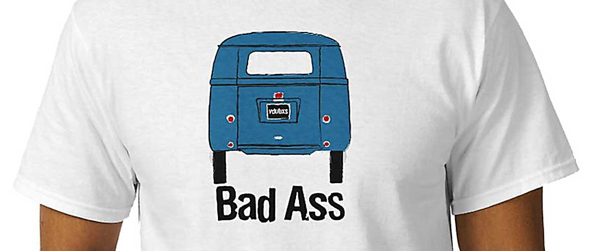 Bad Ass… for those hardcore fans that love rocking early 1950's Barndoor buses