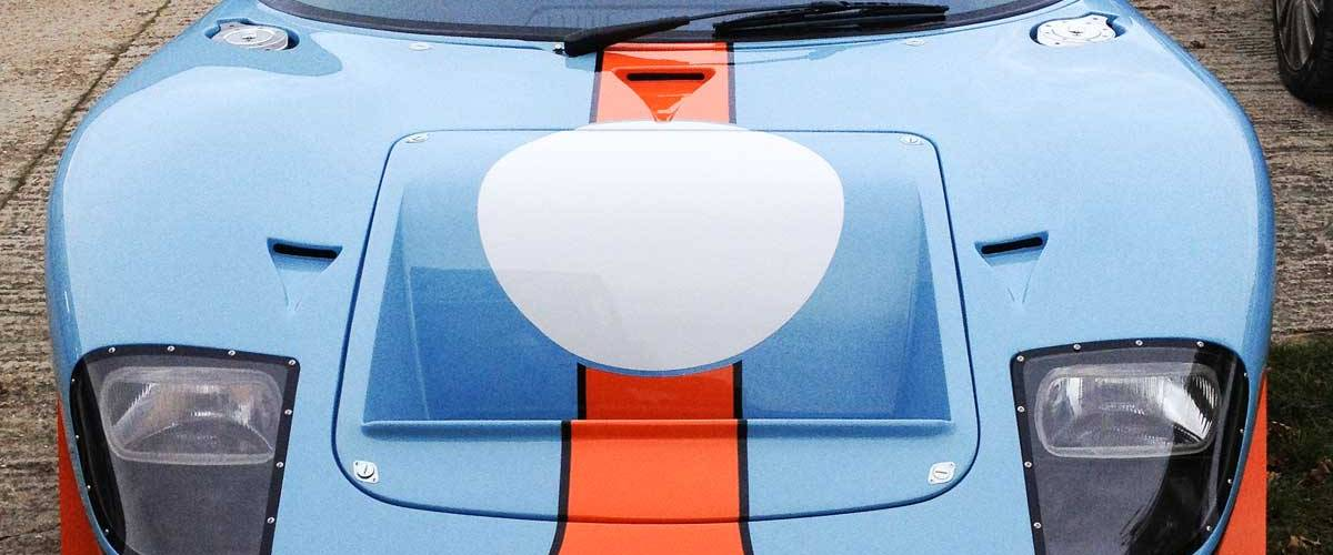 Ford GT40 in Gulf colours… vroooom!