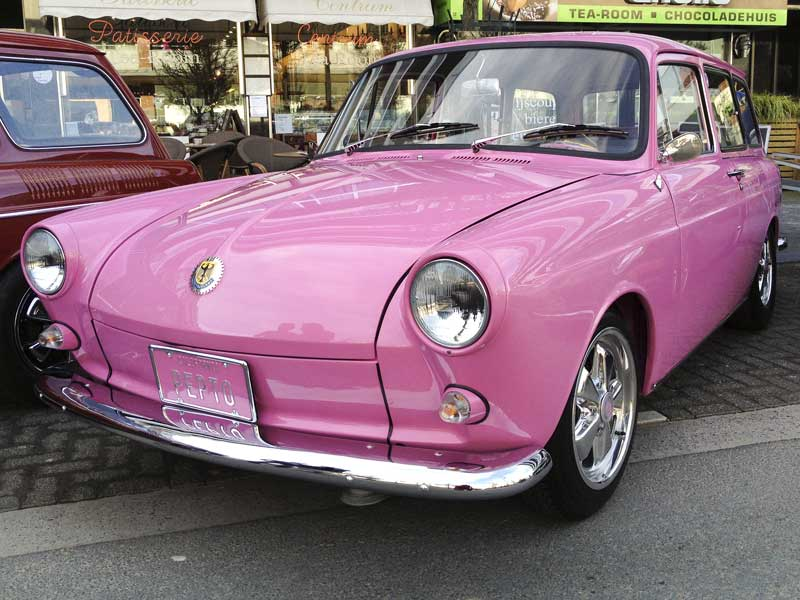 pretty in pink Type 3 squareback