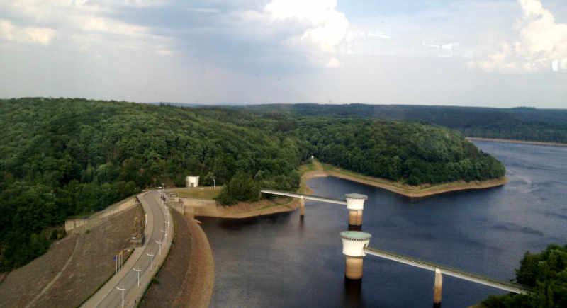 Barrage De La Gileppe, not a bad view…