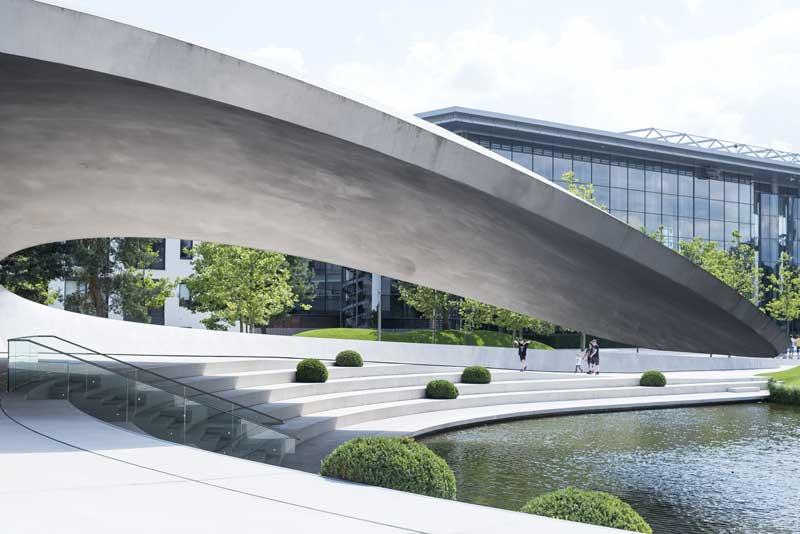 Porsche Pavilion at the Autostadt by Henn Architects