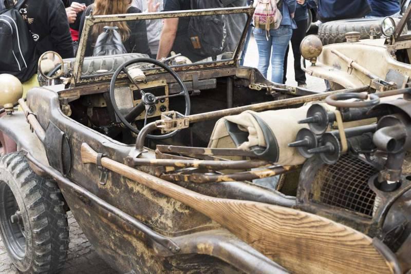 doesn't get much better than this original type 166 Schwimmwagen