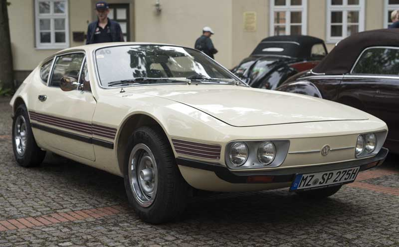 the VW SP2 sports car developed for the 1970's Brazilian market