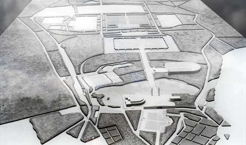 overview model of the proposed Nuremberg rally grounds