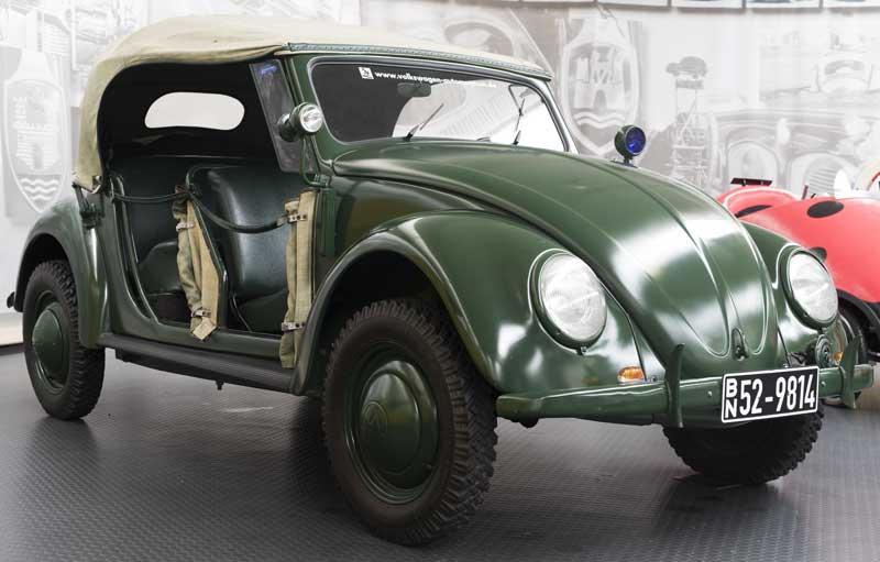 Volkswagen Polizei Cabriolet Type 18A