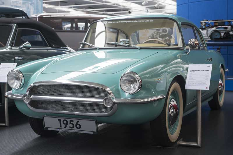 Volkswagen Ghia Aigle Coupe by Carrosserie Ghia of Switzerland