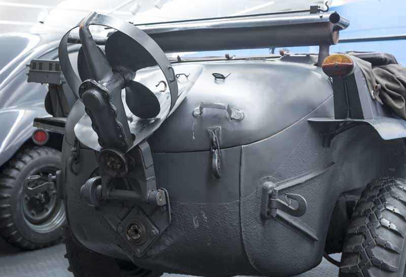 the business end of a Schwimmwagen… now where's the water?