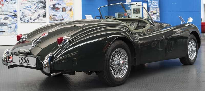stunning Jaguar XK140