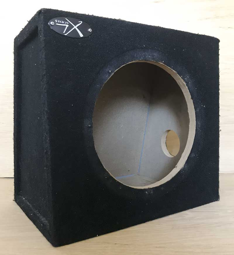 "Solid 10"" subwoofer box/enclosure for sale"