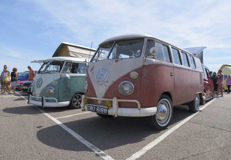 a VW show by the sea that's only a couple of miles from home, what's not to like?