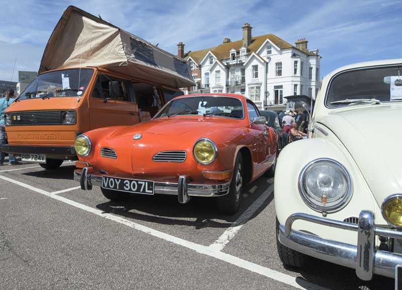 VW air cooled rides come in all shapes an sizes