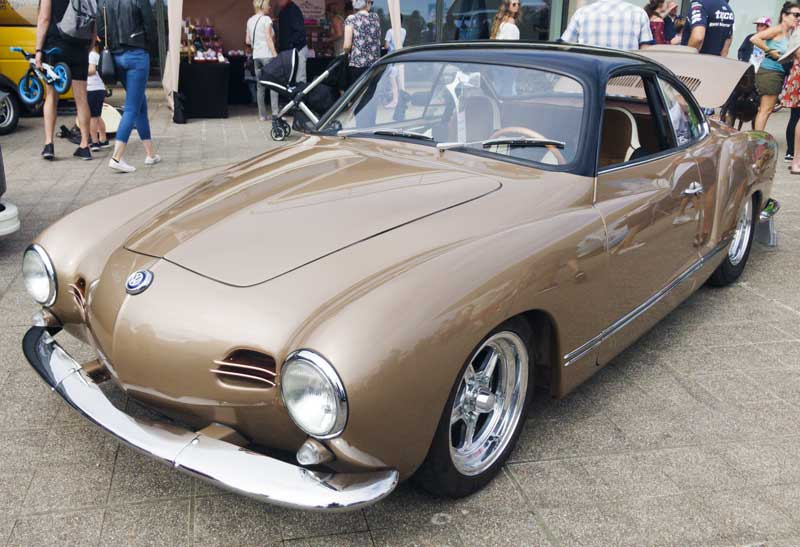 stunning lowlight Karmann Ghia by Californian Classics