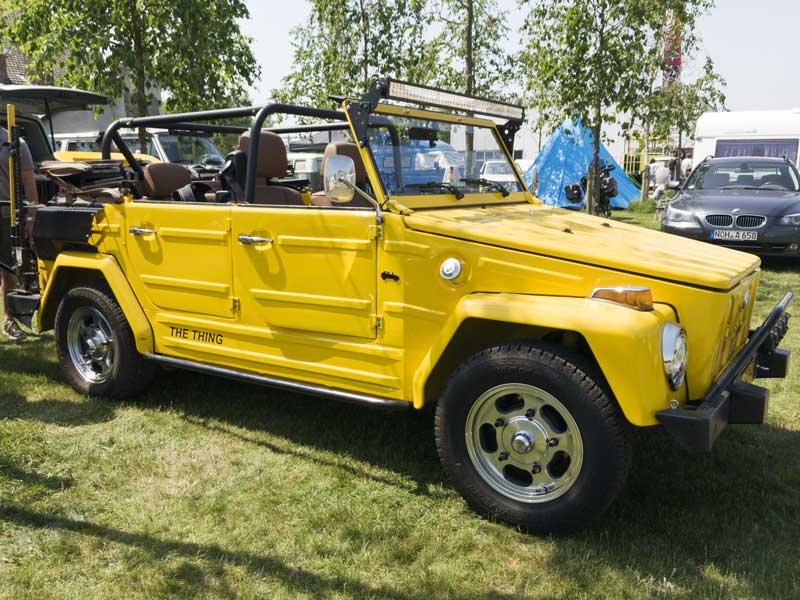 a VW Type 181 (Kurierwagen/Thing/Trekker/Safari/Pescaccia) gets a modern update