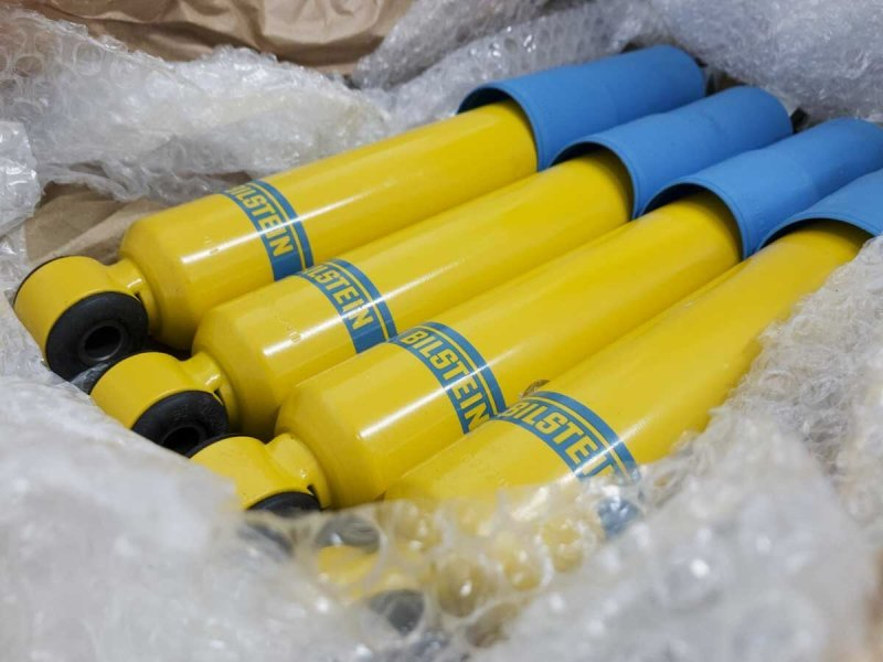 A full set of Bilstein shock absorbers should make a big difference