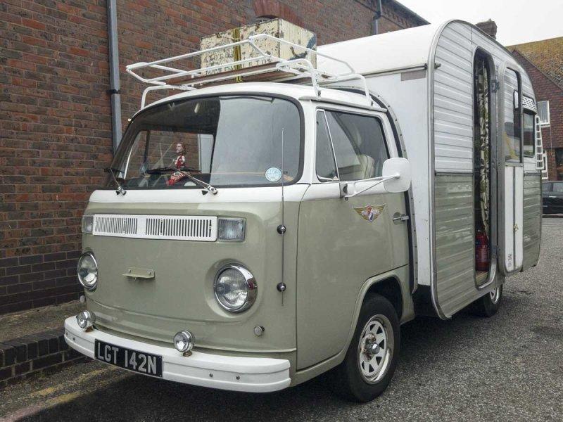 Fantastic Jurgen's Autovilla compact camper/Motorhome