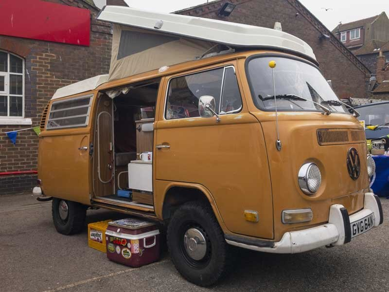 Loved this raised off-roading Westy camper