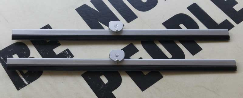 new wiper blades ready to fit