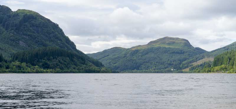 Loch Lubnaig, part of the beautiful Loch Lomond and the Trossachs National Park